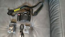 Nikon D40 6.1MP Digital SLR Camera (BODY ONLY) Charger and Battery Included