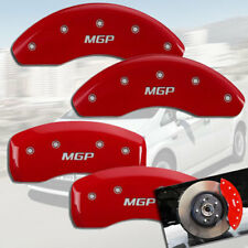 "2012-2018 Toyota Yaris SE Front + Rear Red ""MGP"" Brake Disc Caliper Covers 4pc"