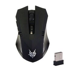 2.4GHz 1600 DPI Mouse USB Wireless Gaming Mouse Mice PC Laptop Computer Black