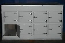 Dollhouse miniature handcrafted Medical Morgue cabinets asylum 1/12th scale