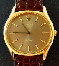 Mechanische Rolex Armbanduhren (Handaufzug) Gelbgold