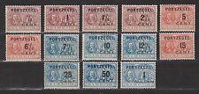 Port nr 31 - 43 ongebruikt MLH NVPH Netherlands Nederland Pays Bas due portzegel