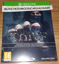 Nuevo ladrón Limited Edition Steelbook & Bank Heist Dlc Pal Microsoft Xbox One