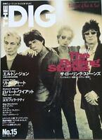 THE DIG CROSSBEAT 1997 Japan Magazine Rolling Stones Elton John Little Feat