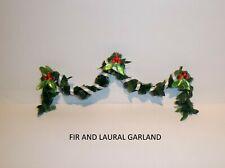 """MINIATURE CHRISTMAS """"FIR AND LAUREL"""" GARLAND"""