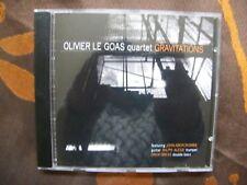 CD OLIVIER LE GOAS Quartet / Gravitations / Altrisuoni AS 204 Switzerland (2007)