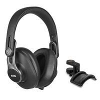 AKG K371-BT Pro Bluetooth Closed-Back Studio Headphones with Headphone Holder