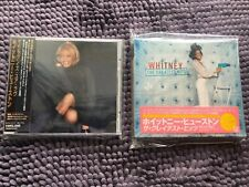 WHITNEY HOUSTON Whitney The Greatest Hits My Love is Your Love JAPAN W/OBI