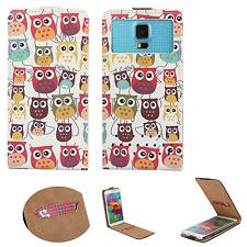 HUAWEI Ideos X3 - Smartphone Hülle Tasche Schutzhülle - Flip XS Eule 3