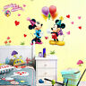 DIY Lovely Mickey Minnie Mouse Wall Sticker Kids Nursery Decor Decal PVC Mural