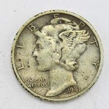 1941 usa mercury head winged liberty head dime coin lot ax