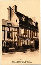 CPA Le Grand Andely - L'Hotel du Grand Cerf (163600)