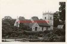 More details for real photo postcard burghwallis church (near doncaster) west yorkshire, scrivens