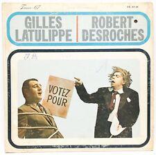 Gilles Latulippe Robert Desroches LP Vinyl Album TC Franco 67 FR67-29