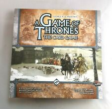Game Of Thrones The Card Game Board Game George R.R.Martin's 2008 Fantasy- R949
