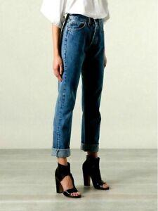 RARE vintage LEVIS 6501 womens 501 JEANS (tagW28) W26 L28 uk 8 ladies High waist