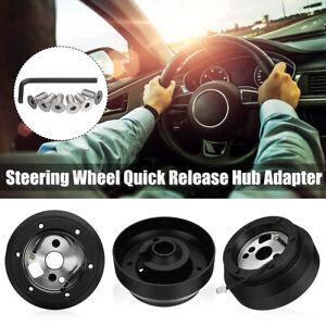 Steering Wheel Adapter Short Hub For Chevy Blazer Camaro Corvette GM GMC 6 Hole
