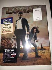 Logan Best Buy Excl.  B&W NOIR FIRST PRINT  HD Blu-ray Steelbook NEW