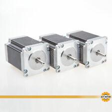 ACT MOTOR GmbH 3PCS Nema23 Schrittmotor 23HS8430 3A 76mm1.9Nm φ6.35mm Bipolar