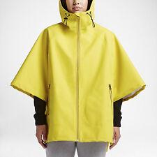 New $140 CONVERSE RUBBER WOMEN'S PONCHO Color Bitter Lemon Size 1000112-741  XS