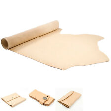 1.5mm DIY Soft Leather Sheets Nature Color Hand Tool Leather Crafts Leathercraft