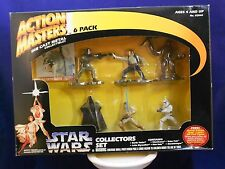 Star Wars Action Masters 1994 Six Pack Includes Bobba Fett Die Cast Metal - MIMP