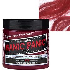 Vampire's Kiss Red Manic Panic Classic Hair Dye Bright Colour Punk Rockabilly
