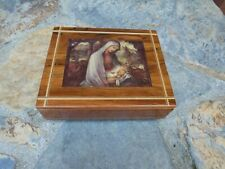 Hummel Music Box - Mary & Baby Jesus Italy AVE MARIA by Schubert