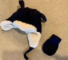 gymboree Girls Hat Size 2-3T With Mittens
