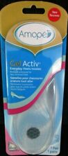 Amope Gel Activ Everyday Heels Insoles - New - Women's Size 5-10 - 1 Pair