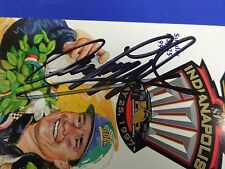Winner Arie Luyendyk Autograph 1997 Indianapolis 500 Race Ticket Unused
