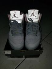 Jordan Retro 5 Womens Size 10 Men's 8.5 Pink/Grey