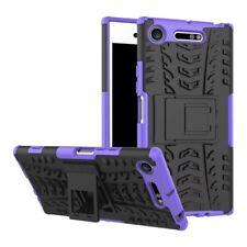 Carcasa híbrida 2 piezas Exterior Púrpura Funda para Sony Xperia XZ1 g8341 g8342