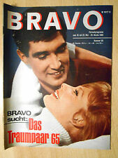 Bravo 20/1965 Sean Connery, Conny Froboes  -  TOP