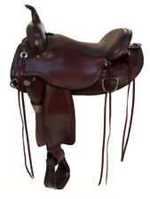 "16"" Circle Y Omaha Flex2 Trail Saddle Wide Tree 1554"