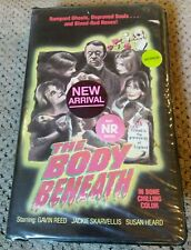 The Body Beneath VHS Horror Western World Video 1983 RARE clam shell case