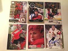 Antti Laaksonen SIGNED 03/04 IN THE GAME ACTION ITGA card MINNESOTA WILD