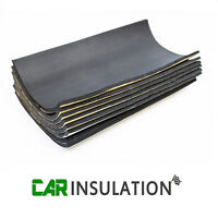 8 Sheets Car Sound Proofing Deadening Vehicle Insulation Closed Cell Foam 10mm L
