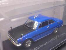 Isuzu Bellett 1600 GTR 1969 Blue 1/43 Scale Box Mini Car Display Diecast Vol 11