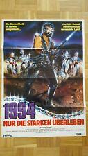 1994-Nur die Starken überleben - Original Kinoplakat A1 84x60cm gefaltet