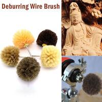 Deburring Wire Brush Head Polishing Grinding Buffing Mushroom Wheel Shank