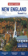 Insight Travel Map New England (USA) *SPECIAL PRICE - NEW*