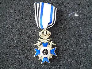 (A10-225) Bayern Militär Verdienstkreuz 3te Klasse mit Schwertern