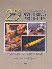 25 Woodworking Projects for Small and Large Boats (Woodenboat)-ExLibrary
