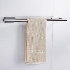 Soporte para estante de toallas de baño, colgador de pared de acero inoxidable,