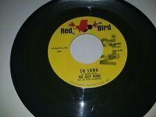"""JELLY BEANS So Long / I Wanna Love Him So Bad RED BIRD 003 45 VINYL 7"""" RECORD"""