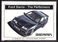 FORD SIERRA Collectors Card Set - XR4i RS Cosworth XR 4x4 RS 500 Sapphire images