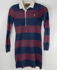 Ralph Lauren Rugby XS Striped Long Sleeve Skull Crossbones Shirt