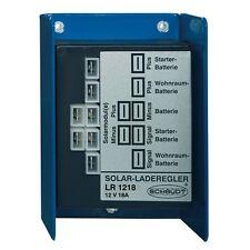 Solar Charge Controller Schaudt LR 1218 (18A/12V) for campers, RV's EBL