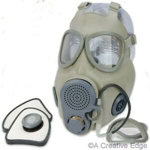 Czech Military M10M Gas Mask w/Drinking Tube-Full Face NBC Respirator